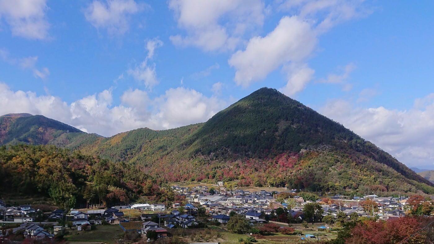 信州長野県坂城町の自然豊かな風景